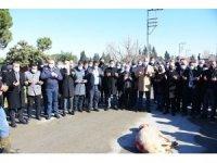 Salihli'de 16 kilometrelik beton yol dualarla açıldı