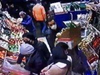 Şişli'de markette yankesicilik kamerada