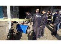 Samsun'da sanayide kaynak yapılan varil patladı: 1 ölü