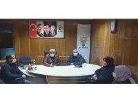 Hisarcık'a yeni yılda yapılacak yatırımlar masaya yatırıldı