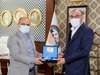 Başkan Dündar'dan Körfez Belediyesine ziyaret
