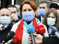Akşener: Bütün sorumluluk Erdoğan'ın