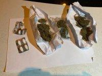 Araçta gizlenen uyuşturucu maddeler Yunus timlerinin dikkatinden kaçmadı