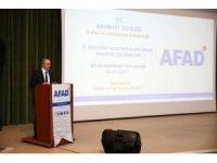 Bayburt'ta Afet Risk Azaltma Planı Bilgilendirme Toplantısı düzenlendi