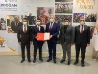 AK Parti Malatya Gençlik Kolları Başkanlığı'na Özhüsrev atandı