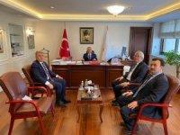 Başkan Cengiz Ankara temaslarını tamamladı