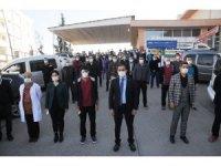 Cizre'de erkek hemşire hasta yakınları tarafından darp edildi iddiası