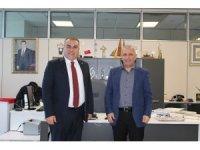 Görele Belediye Başkanı Erener'den İhlas Holding'e ziyaret