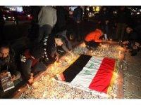 Bağdat'taki saldırıda ölenler Kerkük'te anıldı