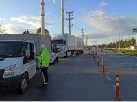 Burdur'da 3 günde 48 araç  trafikten men edildi, 87 araç sürücüsüne ceza uygulandı