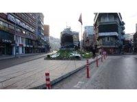Zonguldak'ta cadde ve sokaklar boş kaldı