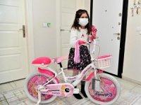 Yaren'in bisiklet hayali, Vali Erdinç Yılmaz'a yazdığı mektupla gerçek oldu