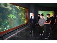 Keçiören Belediyesinden Deniz Dünyası'nda 3D sinemalı sömestr hediyesi