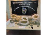 Gaziantep'te 25 kilo bonzai ele geçirildi