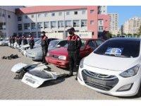 Oto hırsızlık çetesi operasyonunda 41 kişi gözaltına alındı
