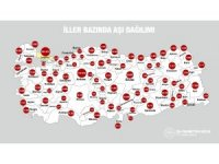 """Bakan Koca: """"1 milyon 200 binden fazla kişi şu ana kadar aşı oldu. Türkiye'de iller bazında aşı dağılımını görebilirsiniz. Pazartesi gününden itibaren bunu canlı olarak takip edebileceksiniz. En çok sağlık çalışanımızın"""