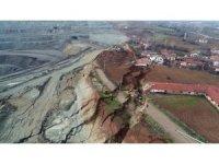 Termik santralin sebep olduğu heyelandan etkilenen köylülerin mağduriyeti devam ediyor