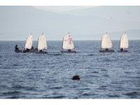 Sinop'ta yelkenliler kısıtlamayı fırsata çevirdi