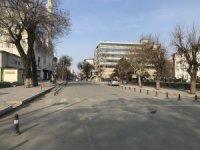 Iğdır'da cadde ve sokaklar sessizliğe büründü