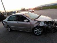 Osmaniye'de trafik kazası: 1 yaralı
