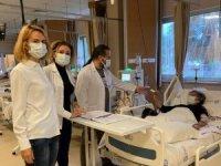 Çeşme'de, hemodiyaliz ünitesi çalışanlarına başarı belgesi