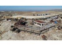Kapadokya'da 25 kaçak yapı daha yıkıldı