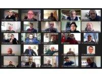 TGK Başkanlar Kurulu video konferansta buluştu