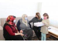 Vali Becel, Ürgüp'te aile ziyaretlerinde bulundu