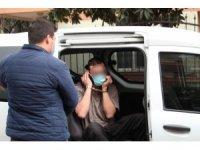 'Dur' ihtarına uymayıp kaçtı, 'Maskeni tak' diyen polise 'Sana ne benim maskemden' dedi