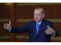"""Cumhurbaşkanı Recep Tayyip Erdoğan: """"CHP'nin ifa ettiği görev HDP ve İYİ Parti ittifakını dengede tutmak"""""""