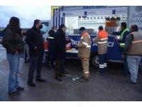 Mobil İkram Aracı bu kez belediye personeline servis yaptı