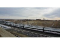 Yüksek Hızlı Tren Yozgat'tan da geçti