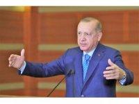 Cumhurbaşkanı Erdoğan, esnafa müjdesini Denizli İl Kongresinden verdi