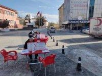 Kızılay Sungurlu'da kan bağışı kampanyası düzenledi