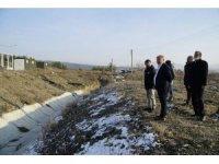 Osmancık OSB'de derenin ıslahına başlandı