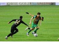Süper Lig: Aytemiz Alanyaspor: 1 - MKE Ankaragücü: 2 (İlk yarı)