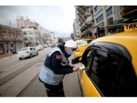 Bursa zabıtasından taksi ve dolmuşlara denetim