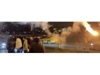 İstanbul'da asker uğurlayan magandalar yakalandı