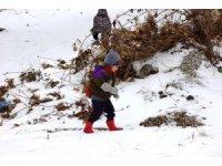 Aydın'ın doğu ilçelerine kar geliyor