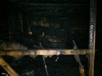 Eşinden ayrıldıktan sonra kaldığı barakada çıkan yangın sonu oldu
