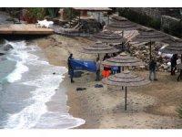 Datça'da battı, 46 kilometre sürüklendi, Bodrum'da sahile cesedi vurdu
