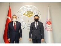 AK Partili Savaş, Bakan Pandemirli ile görüştü