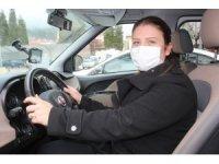 Muğla Sosyal Hizmetlerde ilk kadın şoför göreve başladı