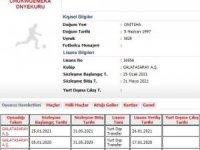 Galatasaray'da yeni transfer Henry Onyekuru'nun lisansı çıkartıldı.