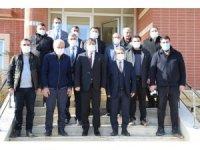 Siirt Üniversitesi Rektörü Prof. Dr. Şındak basın mensupları ile bir araya geldi