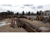Kasım Aktaş Ortaokulu inşaatı hızla devam ediyor