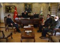 İHA Erzurum Bölge Müdürü Türkez, Belediye Başkanı Demir'i ziyaret etti
