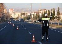 Nevşehir'de 2020 yılında 4 bin 759 araç sürücüne ceza yazıldı