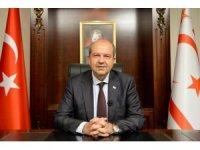 """KKTC Cumhurbaşkanı Tatar'dan Kıbrıs'ta kalıcı çözüm için """"iki devlet'' vurgusu"""