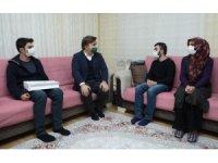 Vali Hamza Aydoğdu'dan mektup arkadaşlarına anlamlı ziyaret